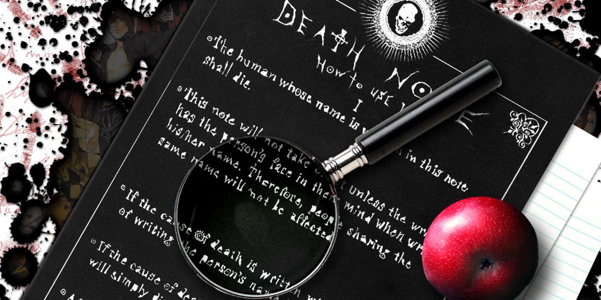 Death Note Condiciones Uso Mi Otaku