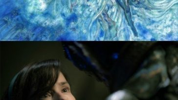 Yoshitaka Amano the shape of water tribute